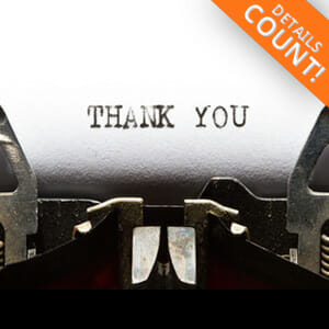 Thank You Letter - Individual Services - JobStars Resume Writing Services