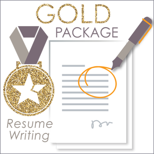 Gold Package - JobStars Resume Writing