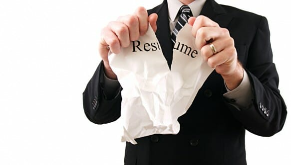 one page resume rule