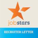 Recruiter Letter - JobStars