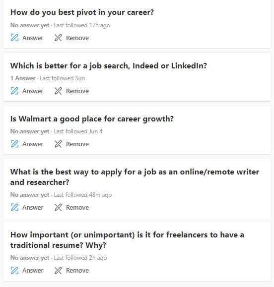 Job Search Talk Questions - Job Seekers Blog - JobStars USA