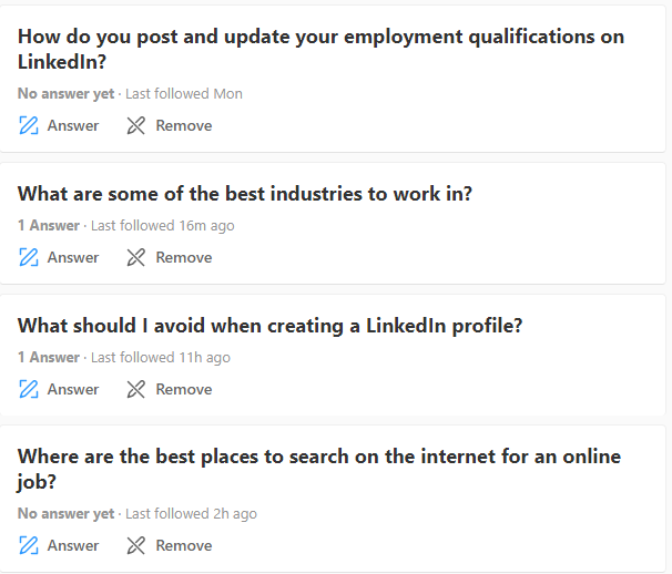 Job Search Talk Questions - Job Seekers Blog - JobStars USA